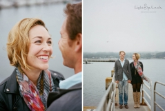 bodega bay engagement session photos