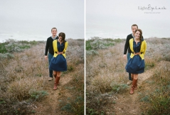 bodega bay engagement images